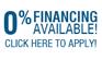 0 percent financing