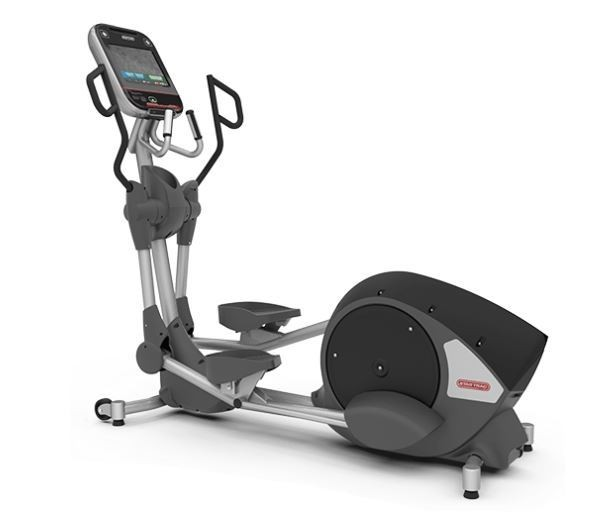 "Star Trac 8 Series Rear Drive Elliptical w/ 10"" Touchscreen ATSC Embedded"