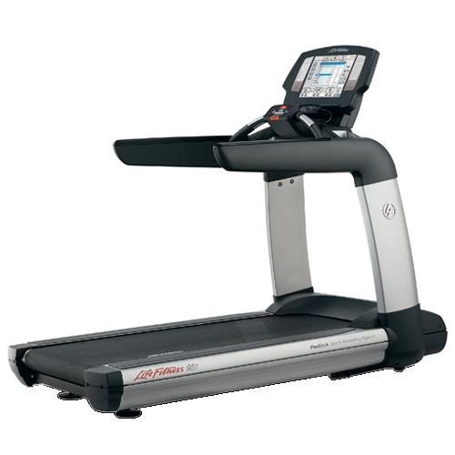 Life Fitness 95T Engage LCD Treadmill - Premium Certified Pre-Owned
