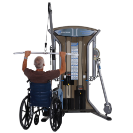 Nautilus Dual Stack Freedom Trainer - Wheelchair Ready - New