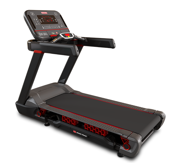Star Trac 10 Series FreeRunner Treadmill w/ Quick Key Selection LCD Console
