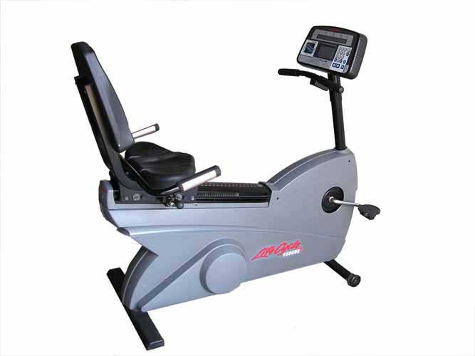 Life Fitness 9500 HR Recumbent Bike - Premium Certified Pre-Owned