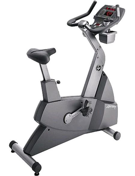 Life Fitness 95Ci Upright Bike - Premium Certified Pre-Owned