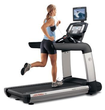 Life Fitness 95T Inspire™ Tread w/TV - Premium Certified Pre-Owned