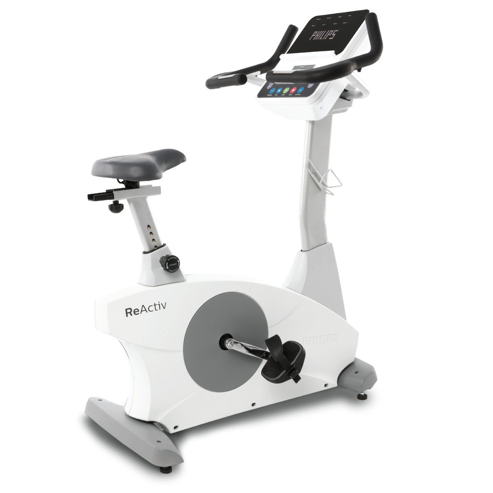 Philips Reactive 4.0U Commercial Upright Bike - by Spirit Fitness - New 2021