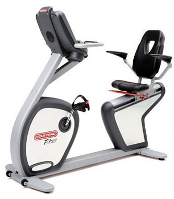 Star Trac Pro Recumbent Bike 6430 - Premium Certified Pre-Owned