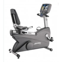 Life Fitness 95Re Recumbent Bike w/TV - Certified Pre-Owned