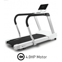 Philips 4.0T Commercial Treadmill with Incline & Decline, 4.0HP Motor, Side Arm Support for Sports Performance & Recovery - Beautifully Engineered