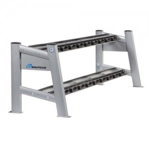 Nautilus® Two-Tier Dumbbell Rack