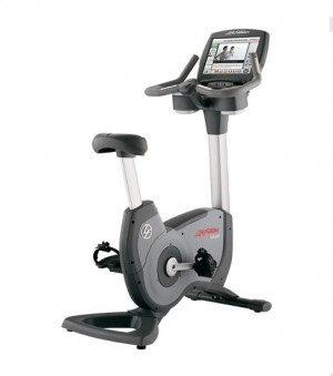 Life Fitness 95C Engage Commercial Upright LifeCycle - Premium Certified Pre-Owned