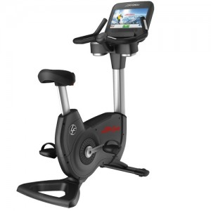 Life Fitness Discover SE Upright Lifecycle Exercise Bike (95CE-D) - Premium Certified Pre-Owned