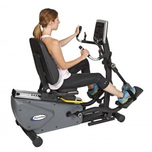 HCI PhysioStep HXT Recumbent Semi-Elliptical Cross Trainer