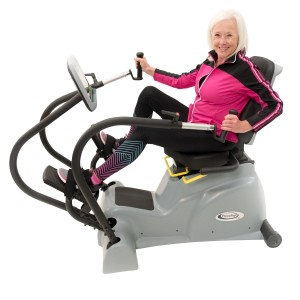 HCI PhysioStep LXT Adaptive Recumbent Linear Cross Trainer