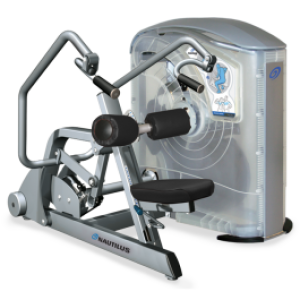 Nautilus ONE Tricep Press - Easy Hydraulic Seat Adjustments - New