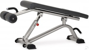 Star Trac Instinct Adjustable Abdominal Decline Bench (IN-B7200) - New