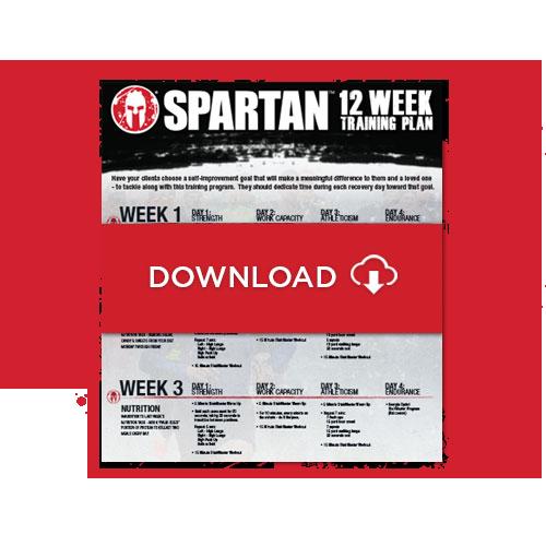 Spartan Free Training Plan