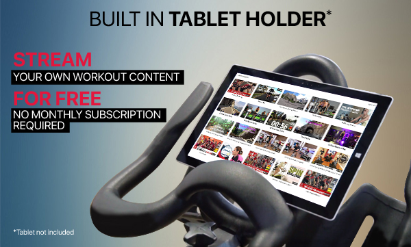 Build in Tablet Holder